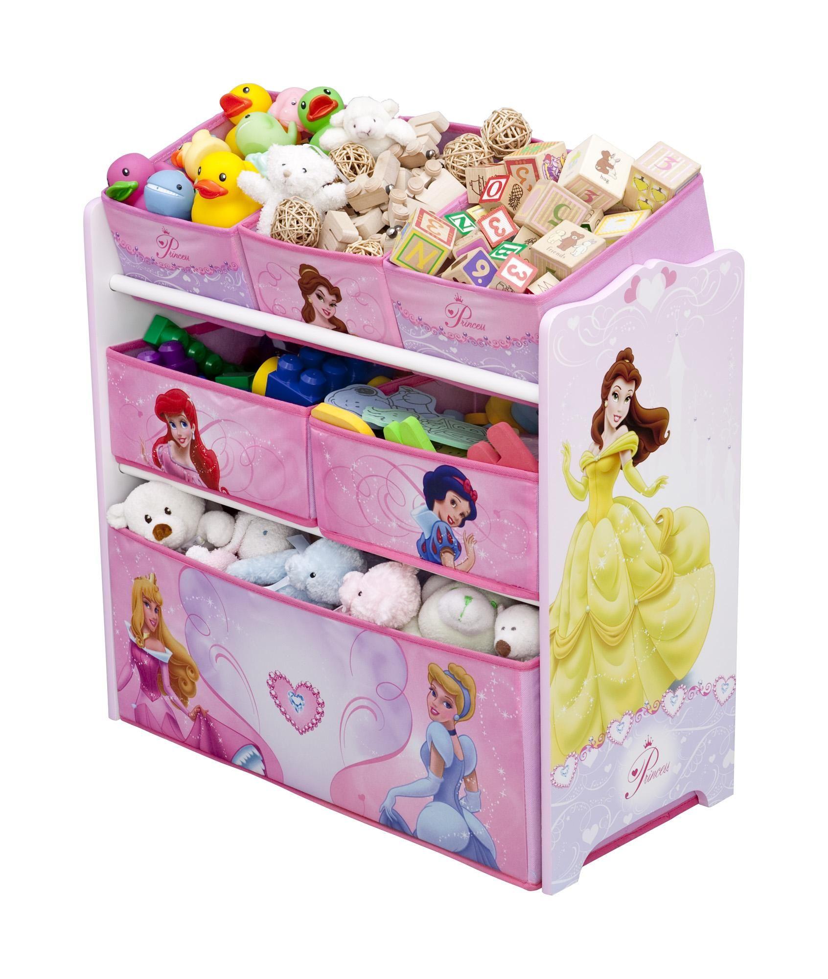 Disney Princess Multi Bin Toy Organizer Toy Organization