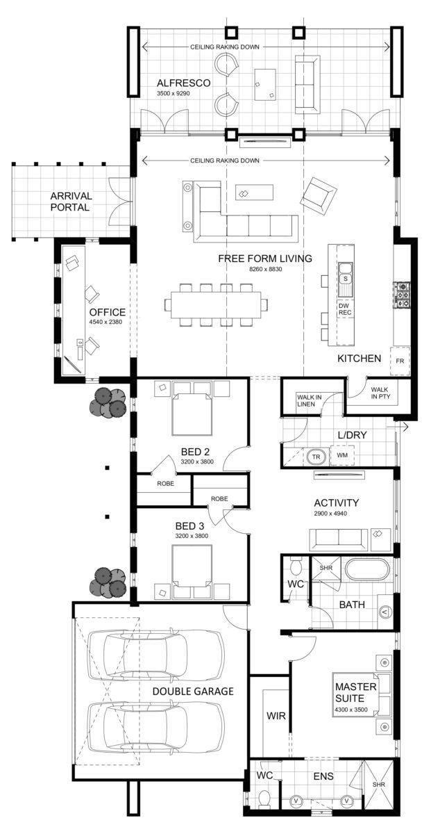 Modern Luxury Home Designs Perth Craftsman Floor Plans Luxury House Designs House Floor Plans