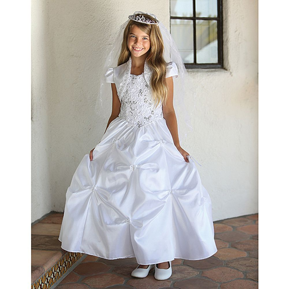 A beautiful Communion dress for your little girl by Angels Garment ...