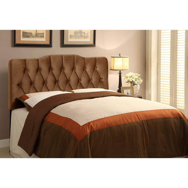 Bedroom Furniture Quinn King Headboard Bronze