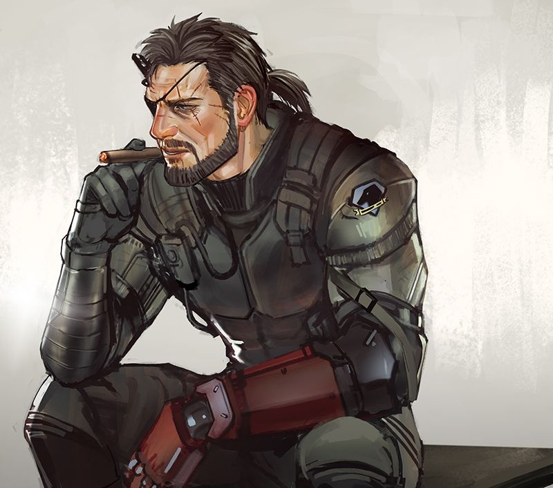 WIP Younger Naked Snake Alt Beard at Metal Gear Solid V