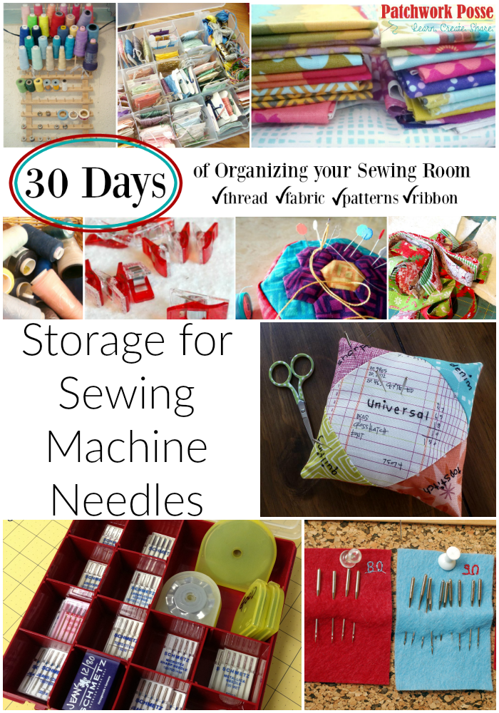 Organize Your Sewing Machine Needles Sewing Ideas Pinterest