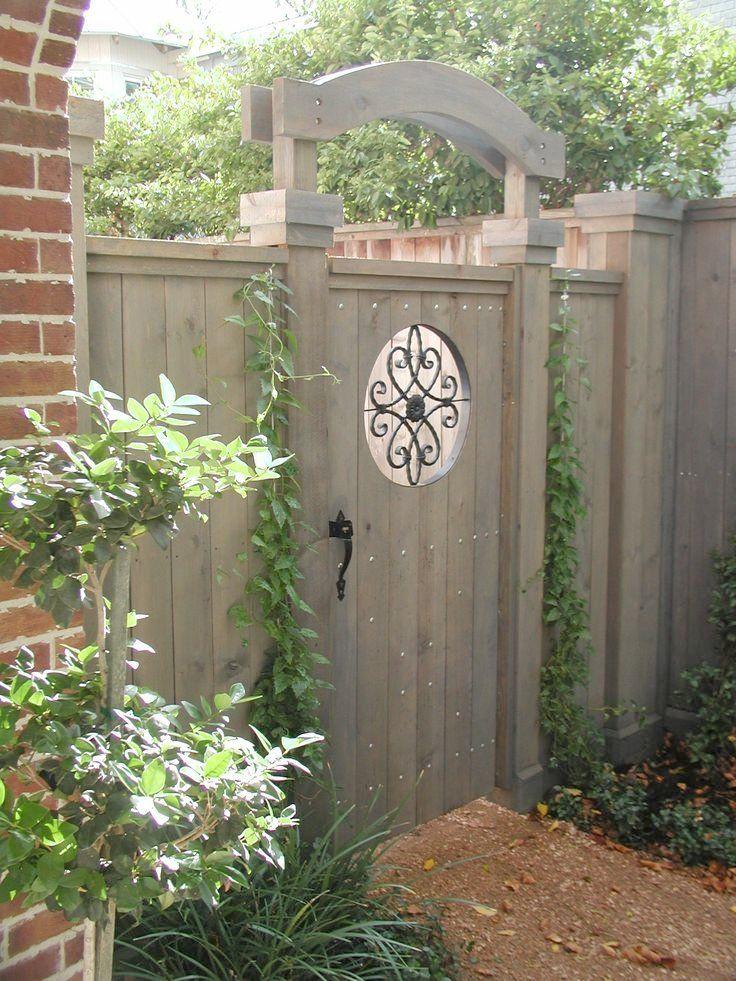 Check Out 21 Small Garden Gates Ideas | Blaumobel.info