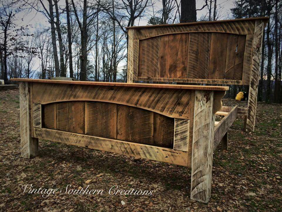 Pin By Kim Cervantes On Diy With Images Wood Bed Frame Diy