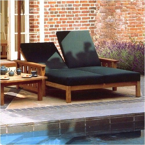 mission double chaise lounge outdoor outdoor chaise lounges allmodern