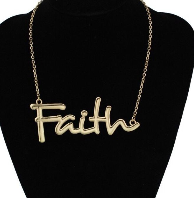 Keep the Faith Necklace!!!!! #necklace #jewelry #accessories #mycourageuxjewelry