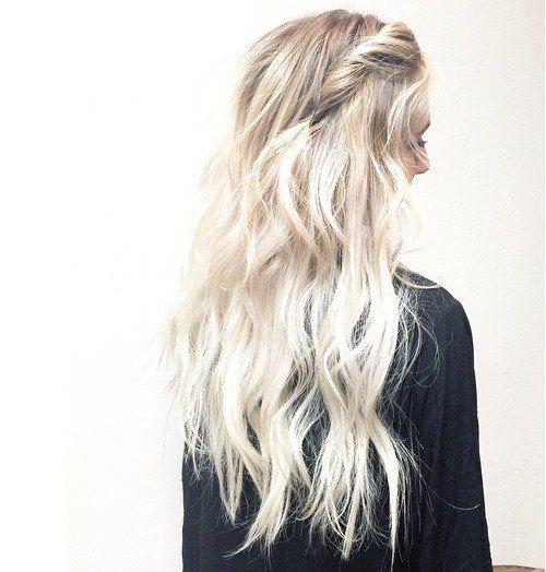 Beyond Blonde White Hair Dye White Blonde Hair