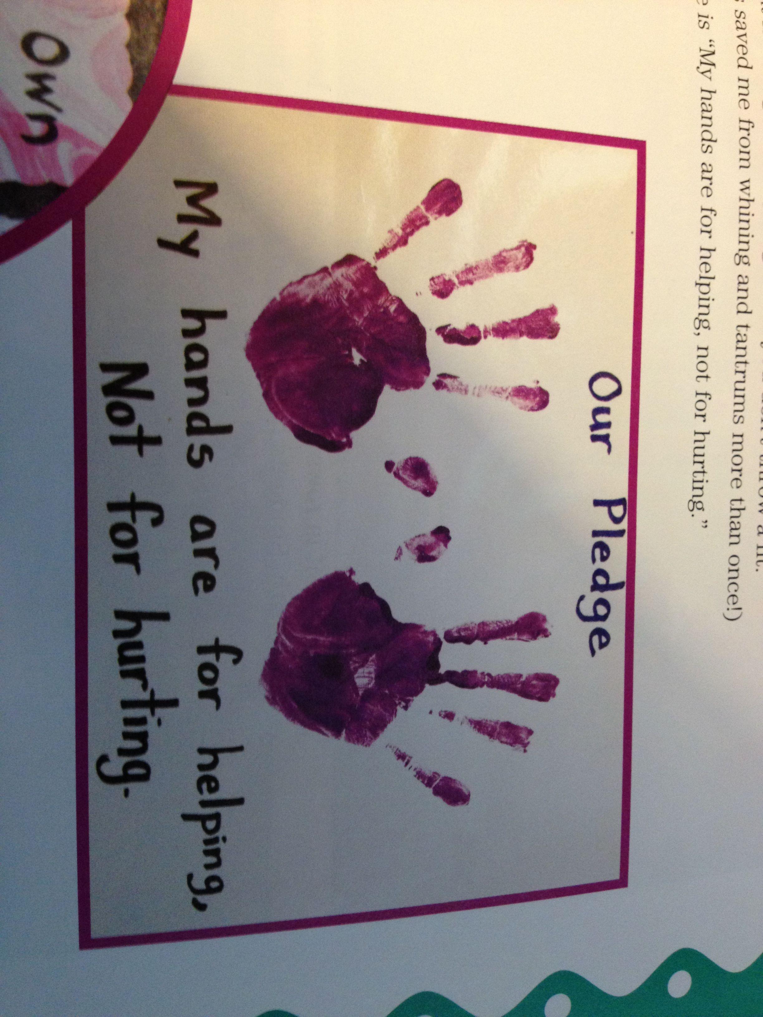 School Craft Helping Hands