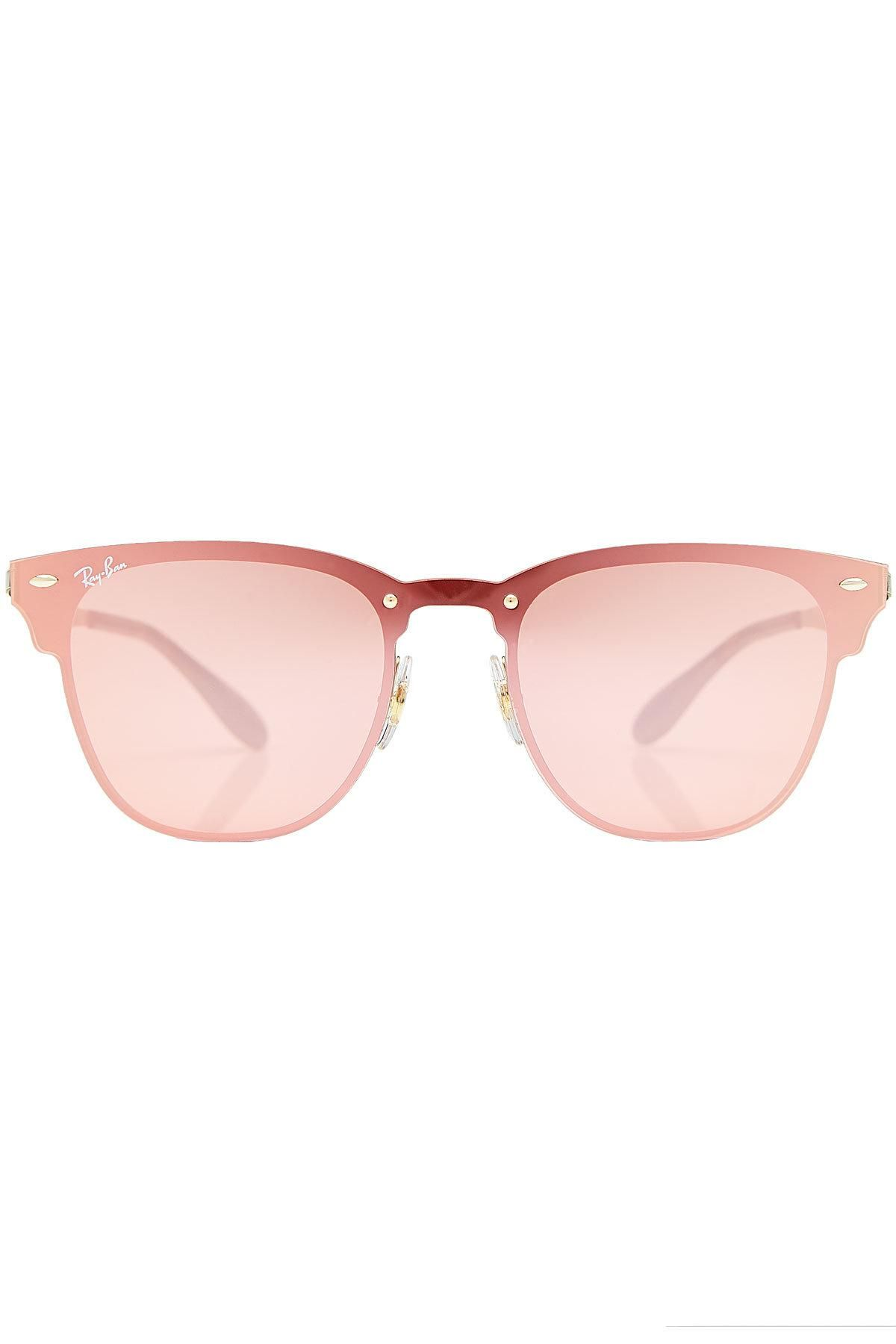 4d60de30e52d41 ... coupon for stylebop fr nl it ray ban ray ban rb3576n blaze clubmaster  mirrored sunglasses adorewe