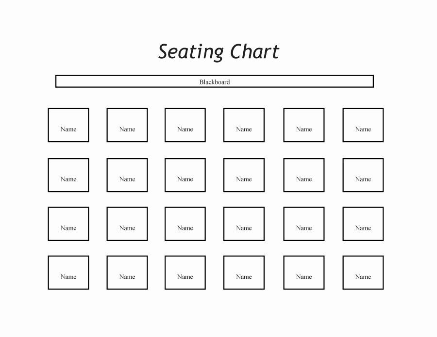 Wedding Seating Chart Template Word Best Of 40 Great Seating Chart