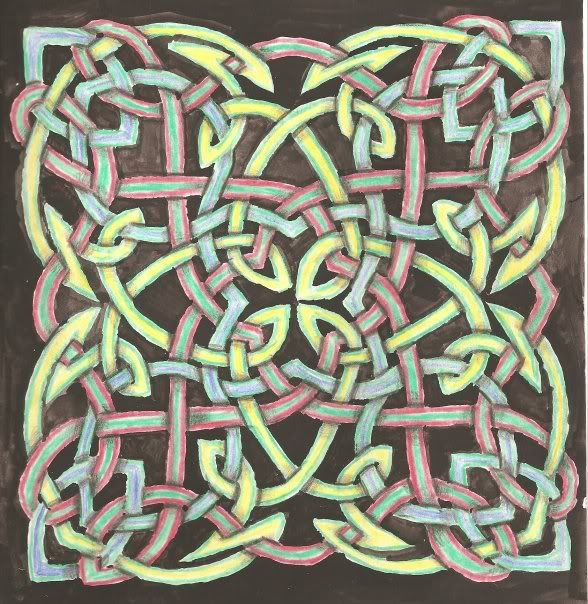 Celtic Artwork ::Large Knot..Carolyn Naegeli Slead