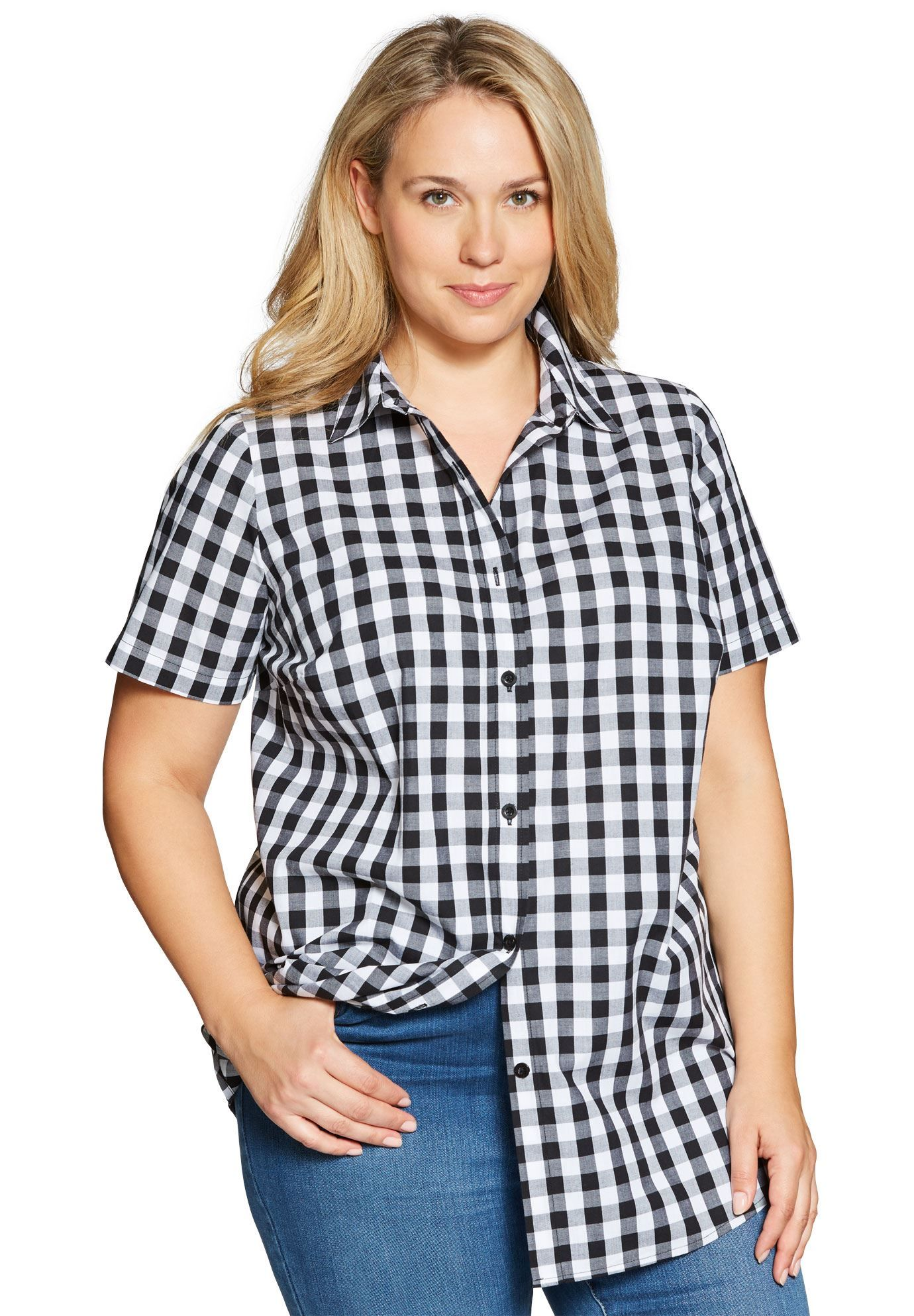 56732b68823 Short sleeve Perfect shirt - Women s Plus Size Clothing