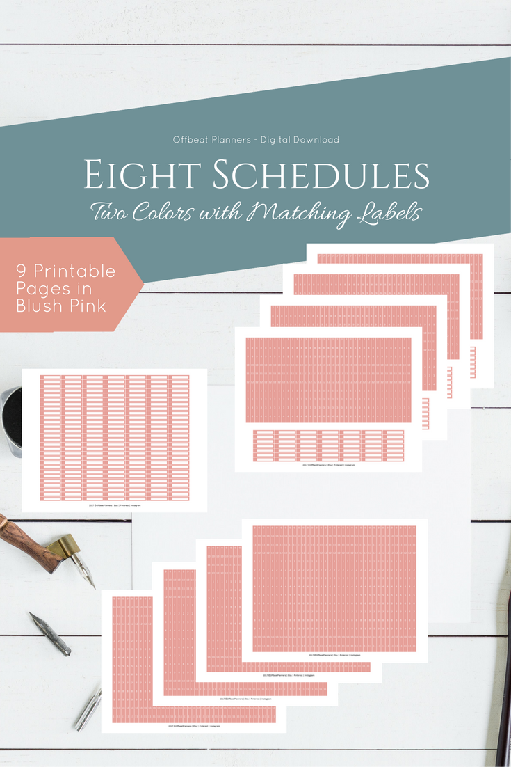 hourly stickers time schedule for your vertical happy planner