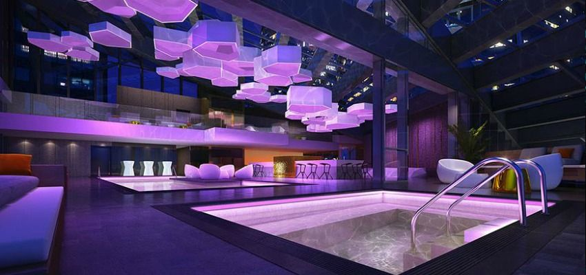 First Ever Pool Bar Nightclub Coming To Vancouver Trump International Hotel Pool Bar Nightclub Design
