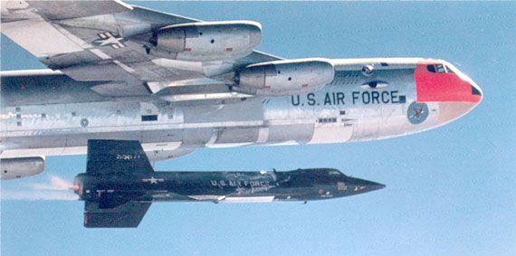 The legendary X-15 rocket-plane.