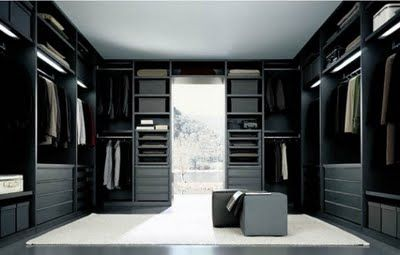 Beautiful Contemporary Closet Design