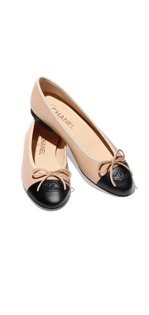 buy popular f1c4c 70989 Spring-Summer 2017 - lambskin- beige & black Chanel ...