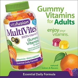 Awesome Tasting Gummy Vitamins For Adults Costco Has Them In Bulk Too Gummy Vitamins Vitamins Gummies