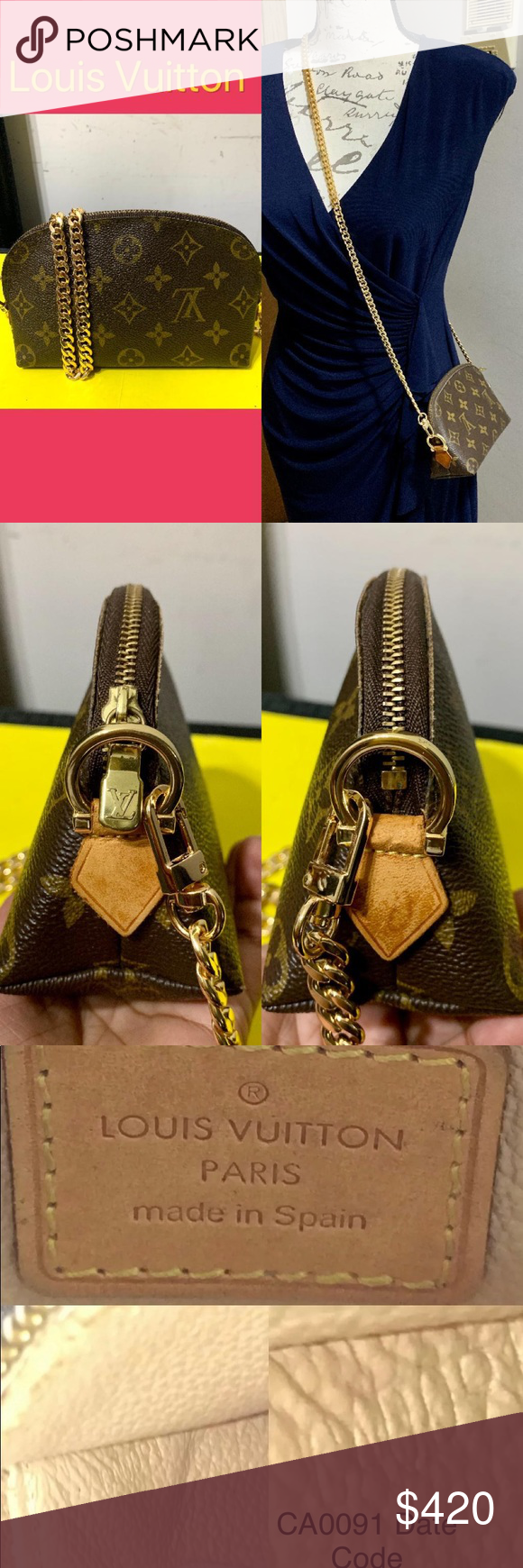 Louis Vuitton cosmetic crossbody ️ This is preloved