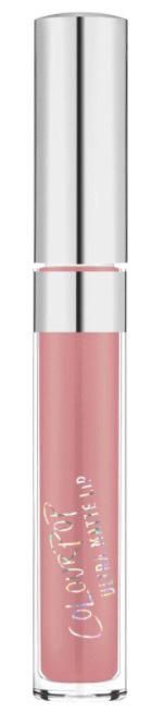 colourpop liquid lipstick in 'clueless' 🌸