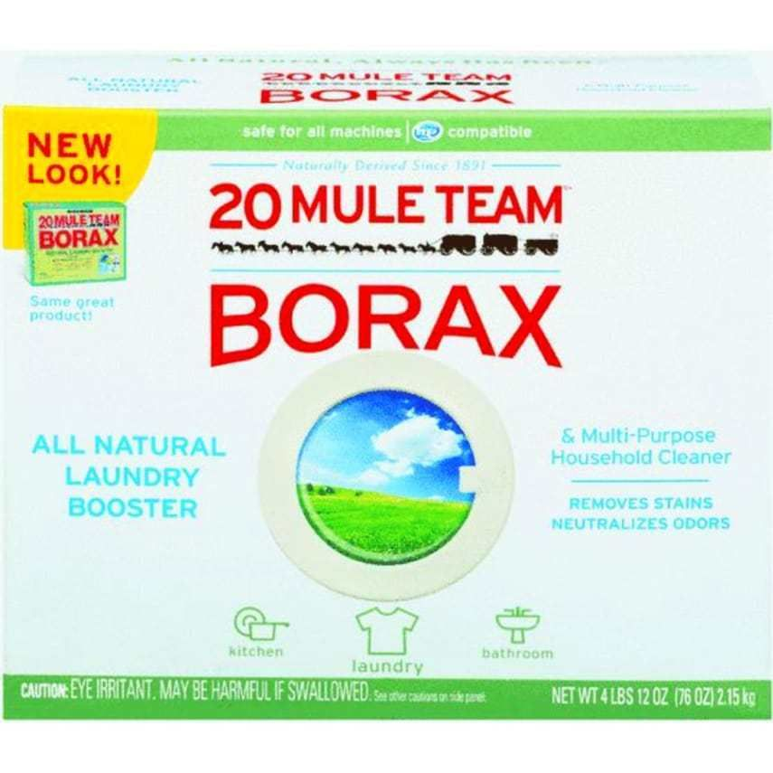 20 Mule Team Borax All Natural Laundry Organization Booster Household Cleaner Laundry Booster Detergent Booster