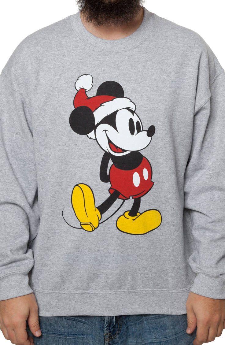 mickey mouse christmas sweatshirt mickey mouse mens sweatshirts
