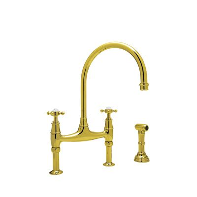 Rohl Kitchen Steep In The Quality Inca Brass Bathroom
