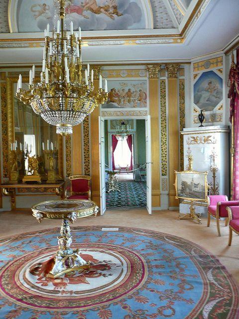 Lantern Room At Rosendal Palace Stockholm