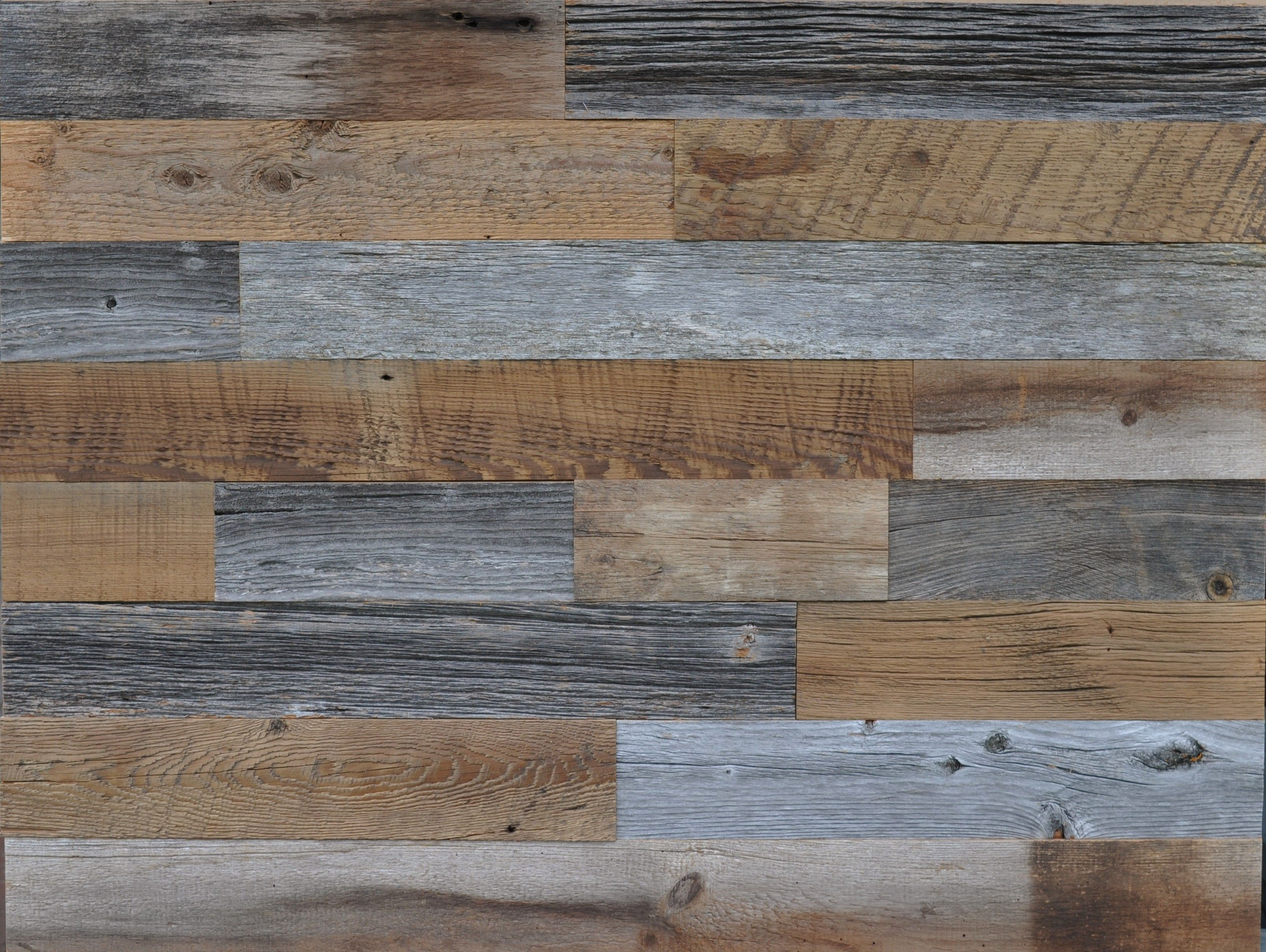 Diy Reclaimed Wood Accent Wall Grey And Brown Natural 3 5 Inch Wide Priced Per Square Foot East Coast Rustic In 2020 Wood Accent Wall Reclaimed Wood Accent Wall Reclaimed Barn Wood Wall