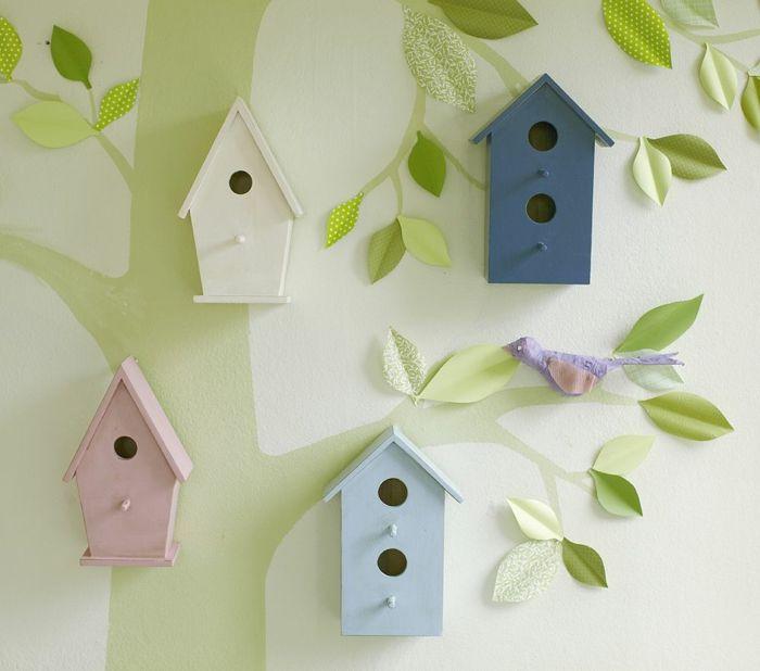 vogelhaus babyzimmer deko ideen – inkfish, Schlafzimmer design