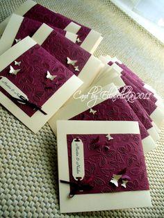 Einladungskarten Zur Hochzeit Mit Schmetterlingen