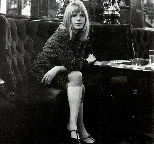 Marianne Faithfull in the 1960s