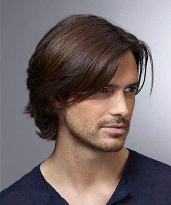 Homme Coiffure Simple Et Facile Coiffure Homme Cheveux Long Homme Coupe De Cheveux Garcon