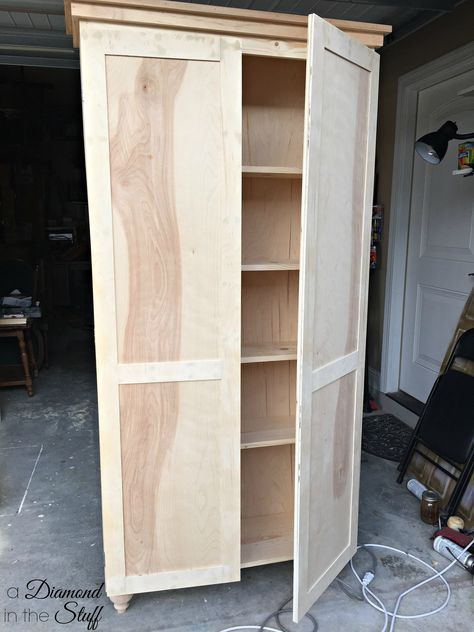 Tall Storage Cabinet With Doors Plans Wooden Storage