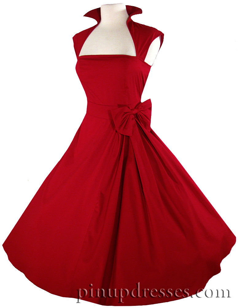 9cf69b7657c3 'Red rockabilly dress' I just ordered this dress from Amazon, and I can't  WAIT to get it!!! :)