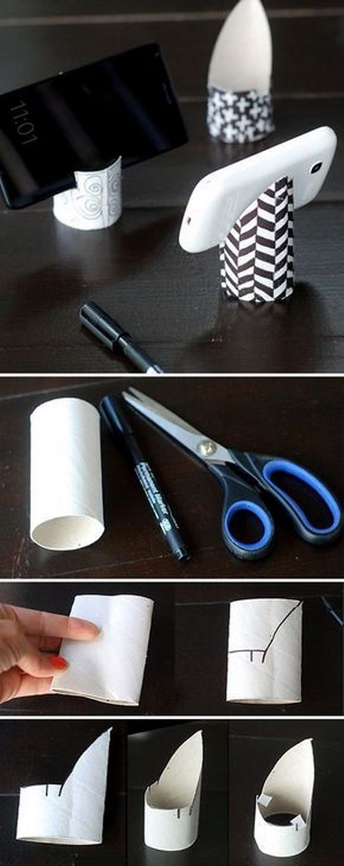 el mundo del reciclaje diy sujetam vil con un rollo de papel higi nico ideias criativas. Black Bedroom Furniture Sets. Home Design Ideas