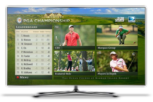 2012 PGA Championship Mix Channel \u0026 TV App by Chum ...