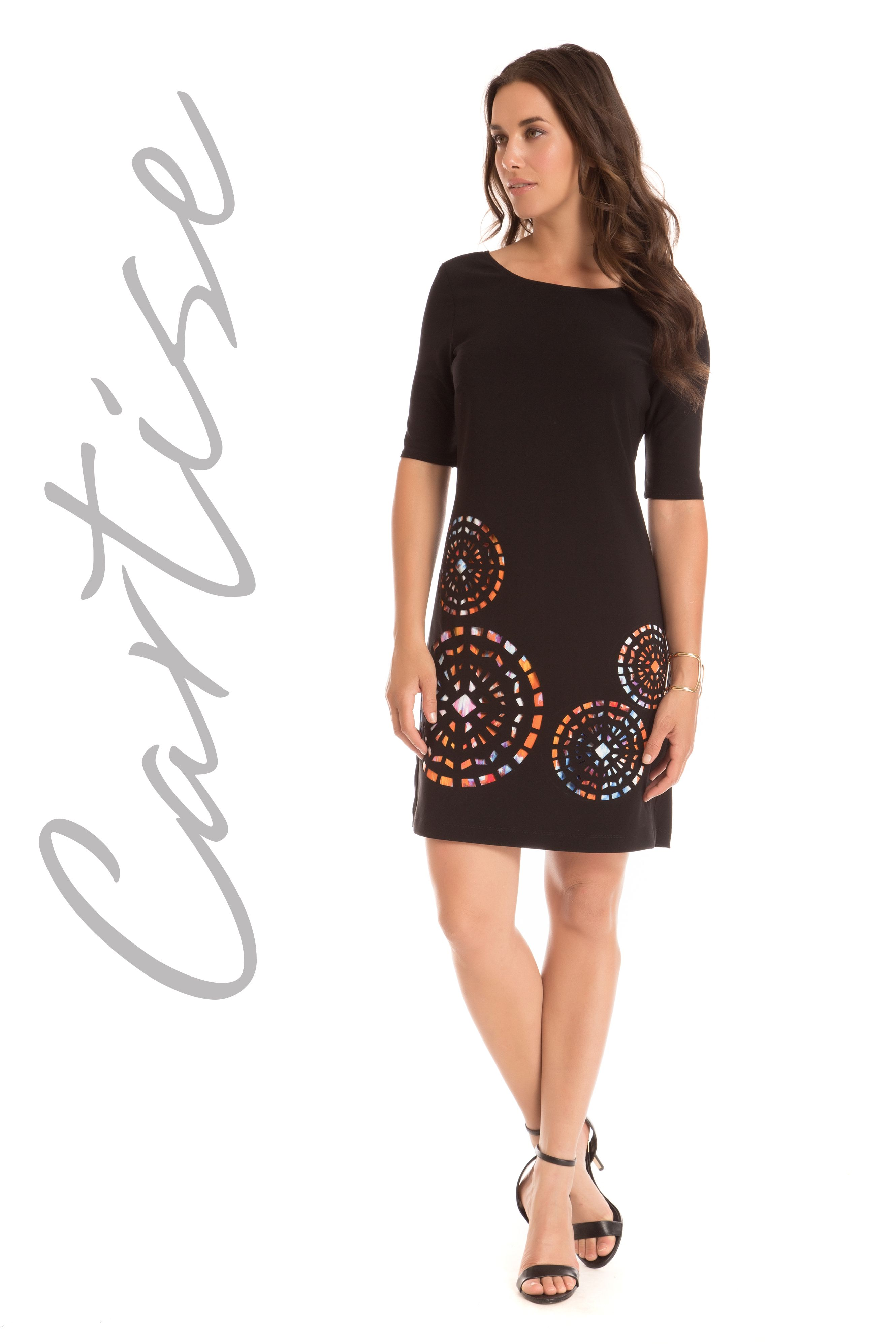 Laser cut dress by Cartise - mirellas.ca