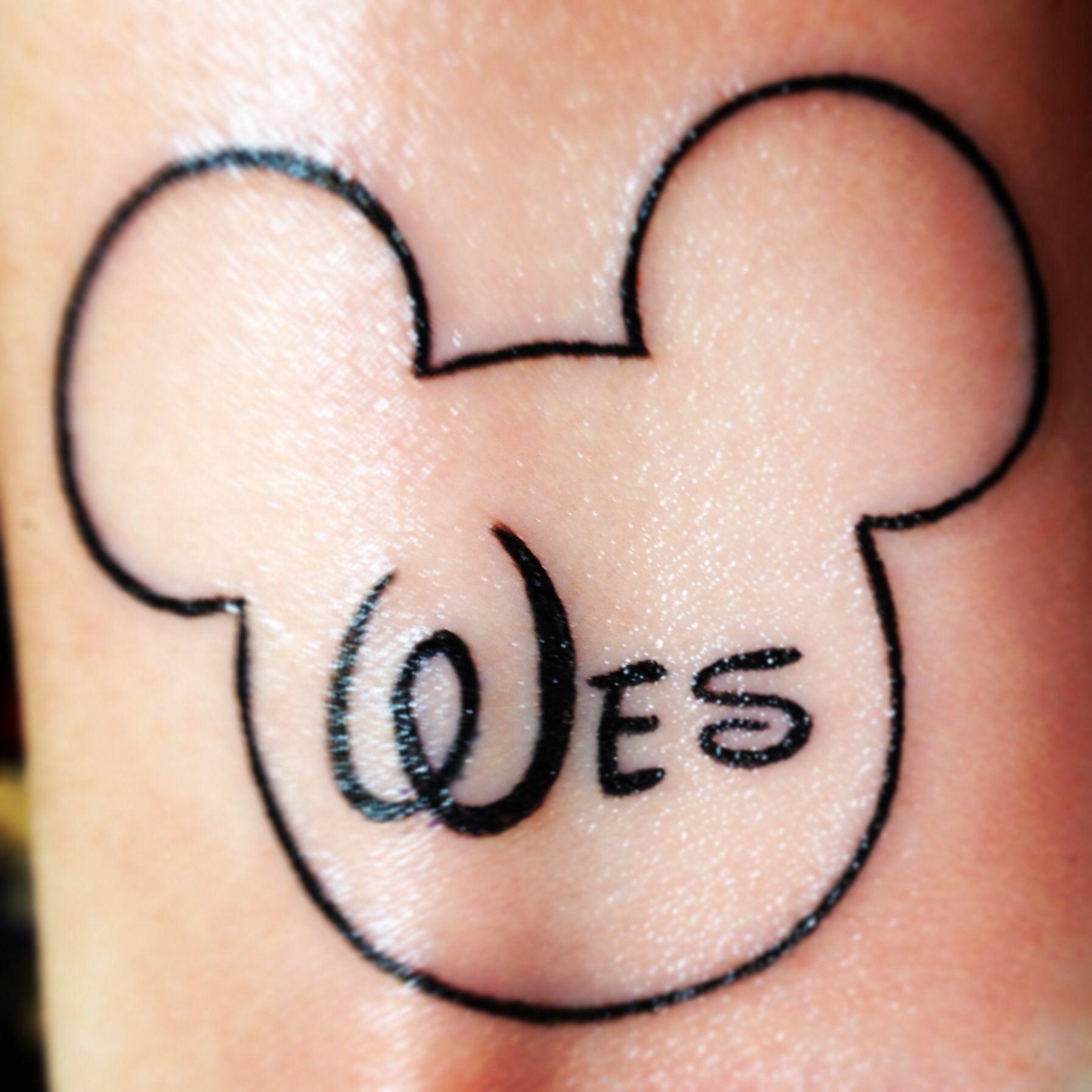 Tattoo for my Disney loving husband