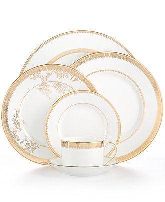 Vera Wang Wedgwood Dinnerware Lace Gold Collection  sc 1 st  Pinterest & Vera Wang Wedgwood Dinnerware Lace Gold Collection | Wedgwood ...