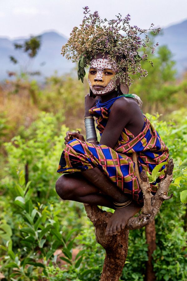 Tribal nudity in national geographic