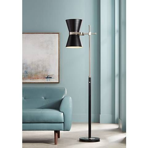 Room · possini euro oxford mid century director style floor lamp 15c87 lamps plus