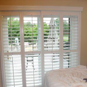 Venetian Blinds For Sliding Patio Doors Blinds For Patio Doors, Double Patio  Doors, Wooden