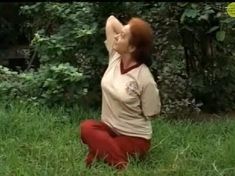 yoga for respiratory problems  gomukhasana cow face pose