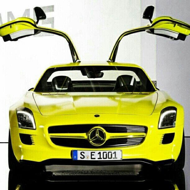 The Mercedes Benz Sls Amg Coupe European Model Shown For More