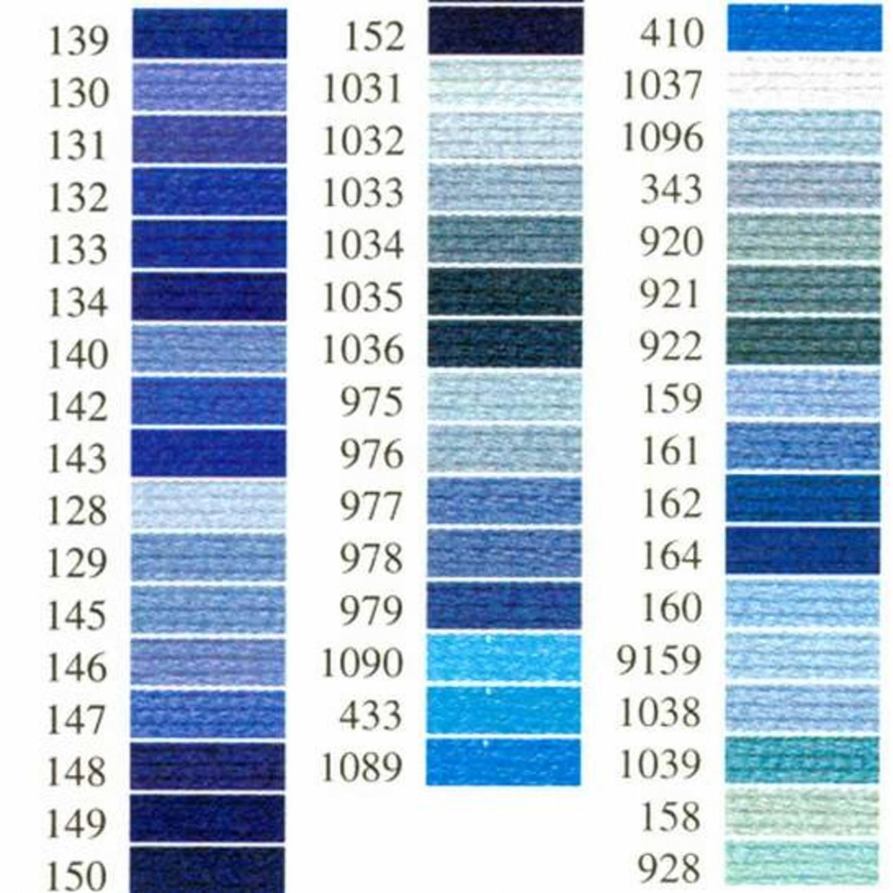 Anchor Sticktwist 1x Farbe 146 blau