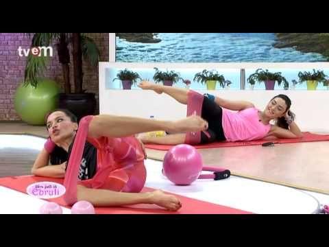 Ebru Şallı İle Pilates Egzersizleri 7.Bölüm - YouTube #pilatesworkoutvideos