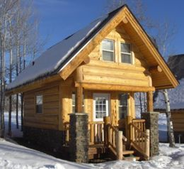 PREFAB LOG CABIN KIT PAGE 5 Rustic IS Beautiful Pinterest