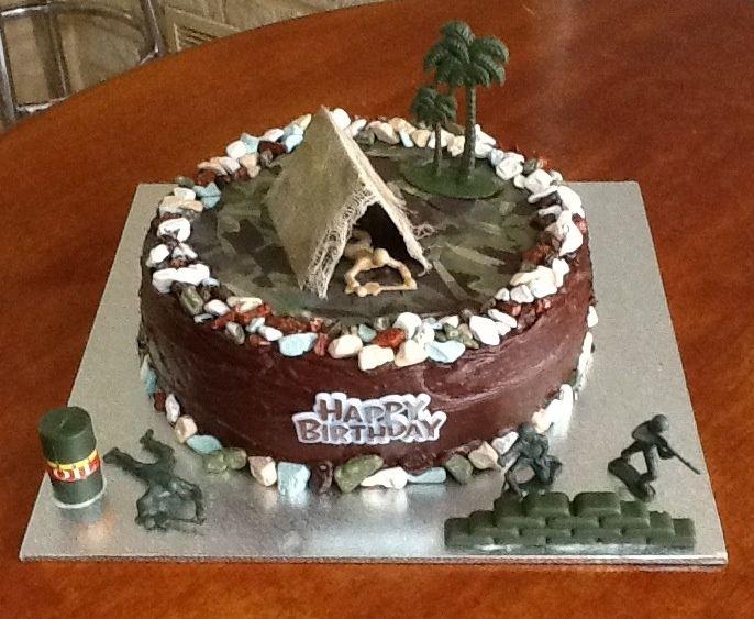 army men cake ideas Jakes Camouflage Army Men birthday cake 2012