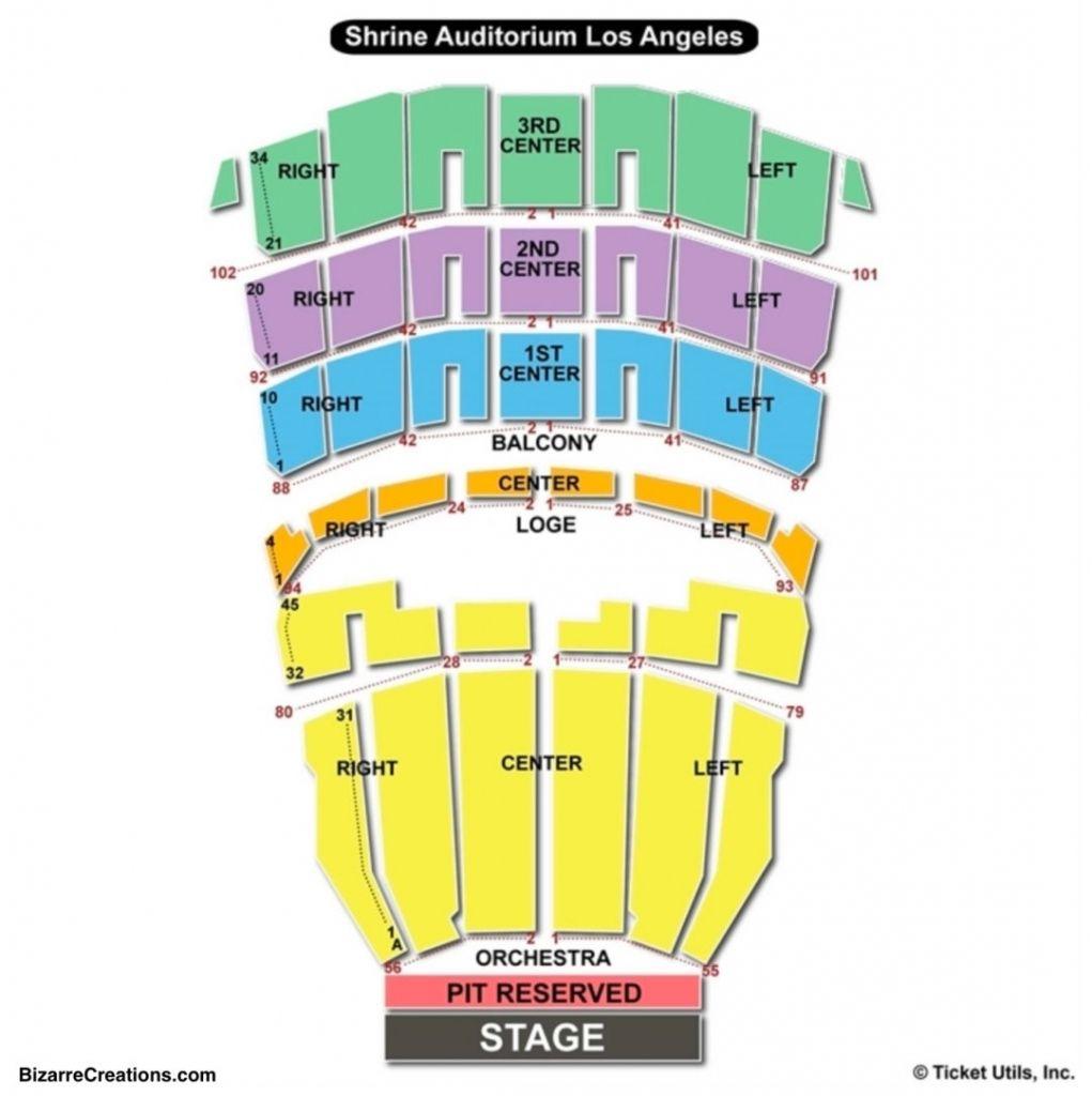 The Most Elegant Along With Gorgeous Shrine Auditorium Seating Chart In 2020 Auditorium Seating Seating Charts Auditorium